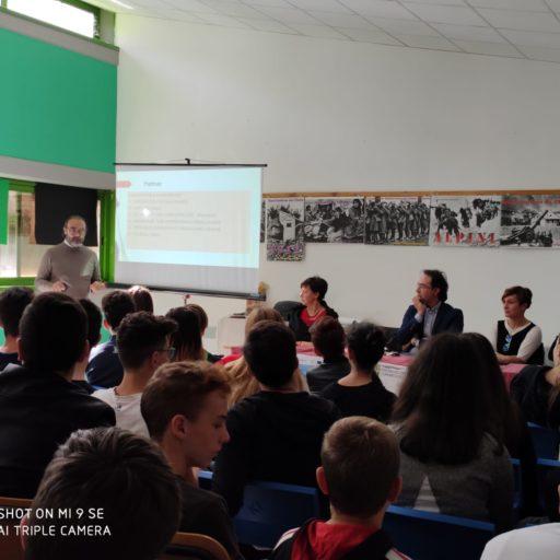 Laboratorio con gli alunni